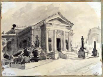 Авсиян О. А. Разрушенное здание Военно-Морского Исторического музея