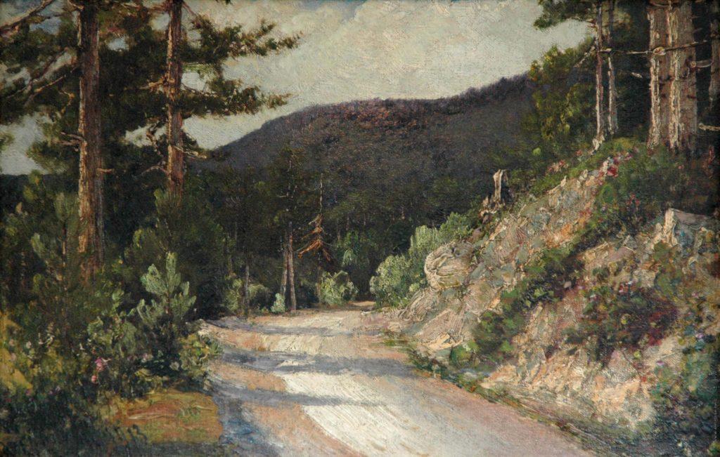 Алисов М.А. Лесной пейзаж