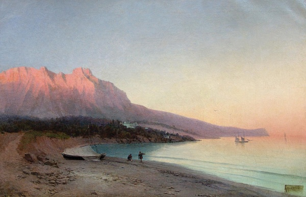 Алисов М. А. Алупка, 1890