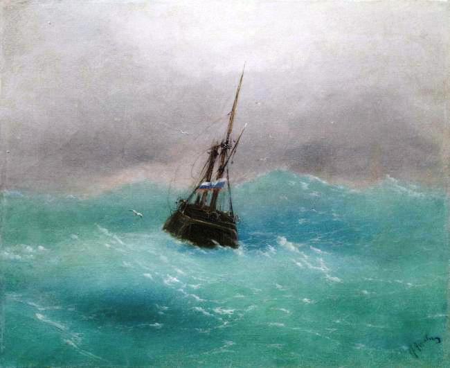 Алисов М. А. В море. I-я четверть ХХ в.