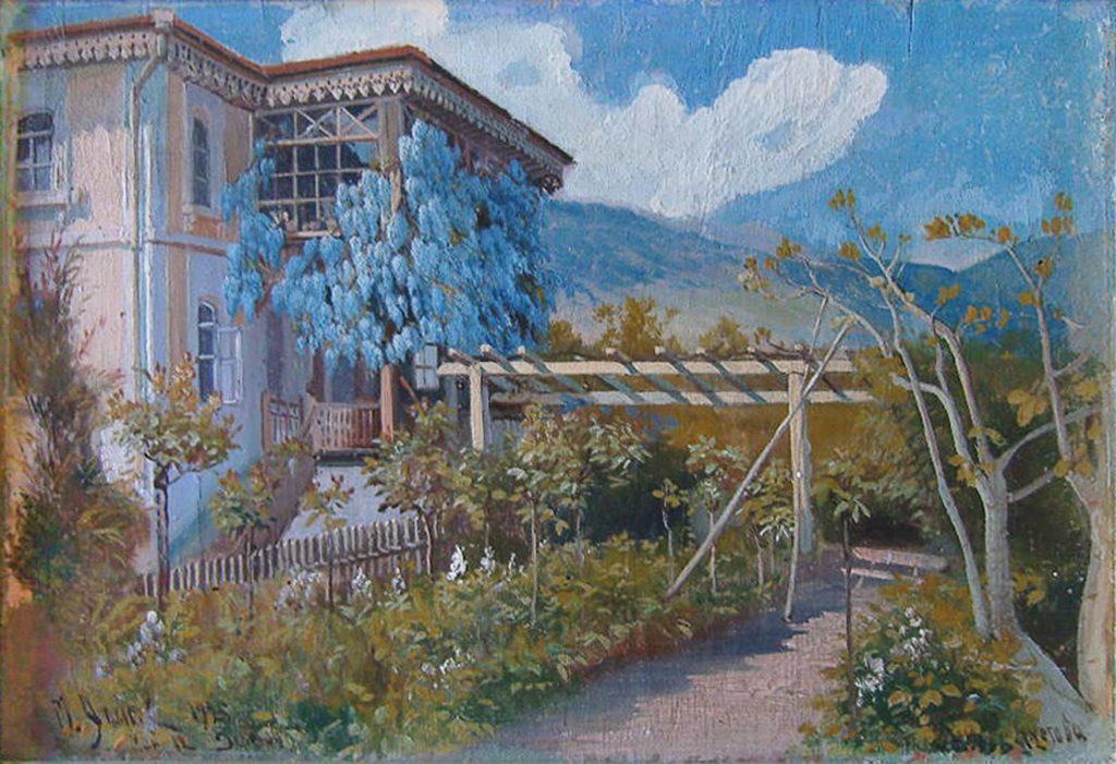 Алисов М. А. Дерекой. Дом М. Аметова, 12 мая 1925 года,