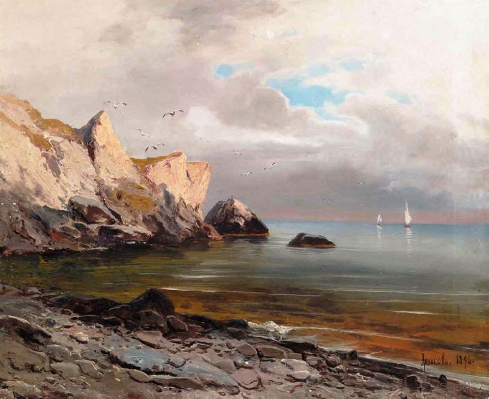 Алисов М. А.  Морской пейзаж, 1894