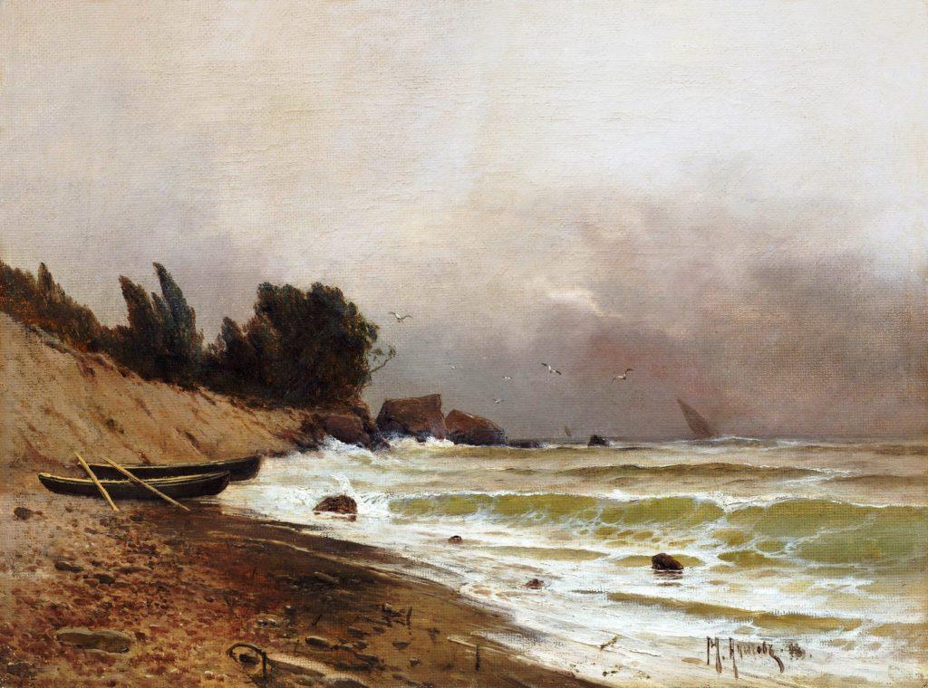 Алисов М. А. Морской прибой, 1896