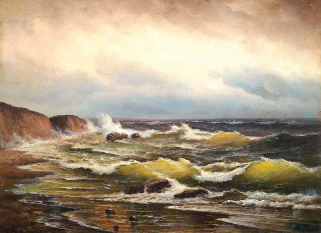 Алисов М. А. Морской прибой, 1920-е