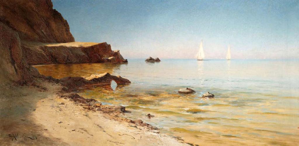 Алисов М. А.  На морском побережье. 1904