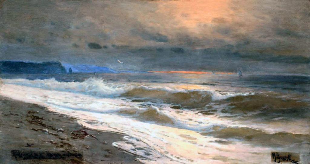 Алисов М. А.  Рассвет на море. 1932