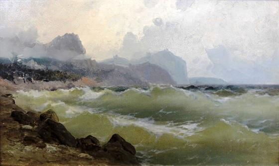 Алисов М. А. Шторм. 1900