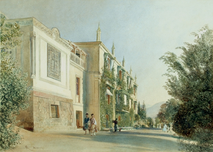 Альт. Ливадия. 1863