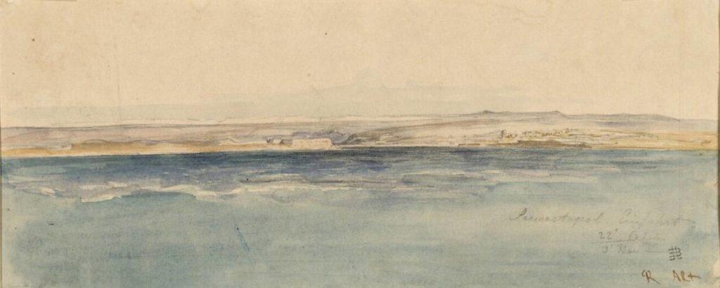 Альт. Под Севастополем.l 1863
