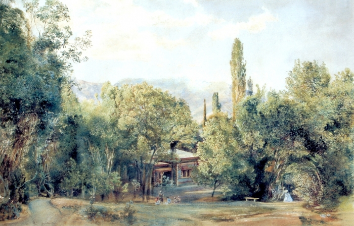 Альт. Дворец Л.С.Потоцкого в Ливадии. 1863