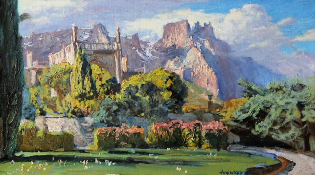 Амбурский А. Воронцовский дворец