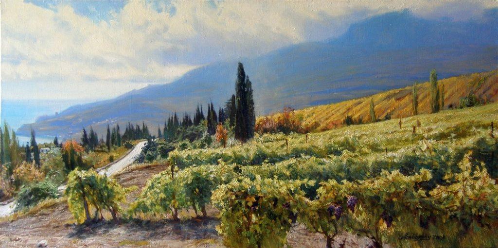 Амбурский А. Солнечные виноградники