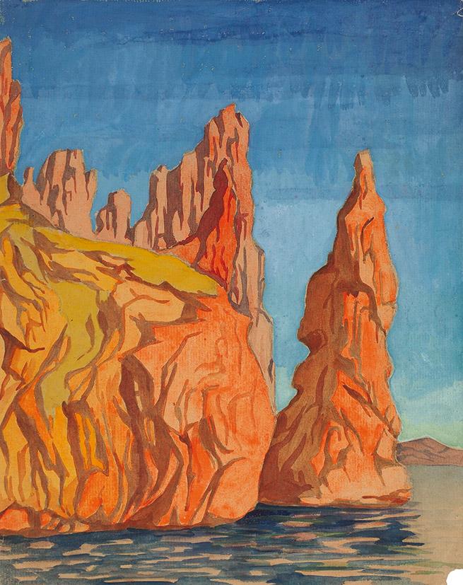 Скалы. 1932