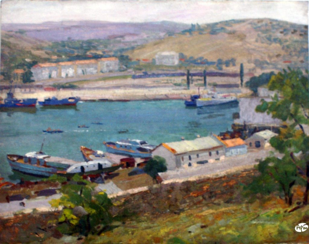 Афанасьев М. А. Бухта