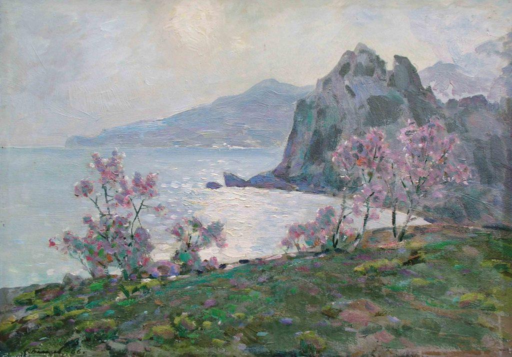 Бакаев С. И. Артек. Весна. 1982