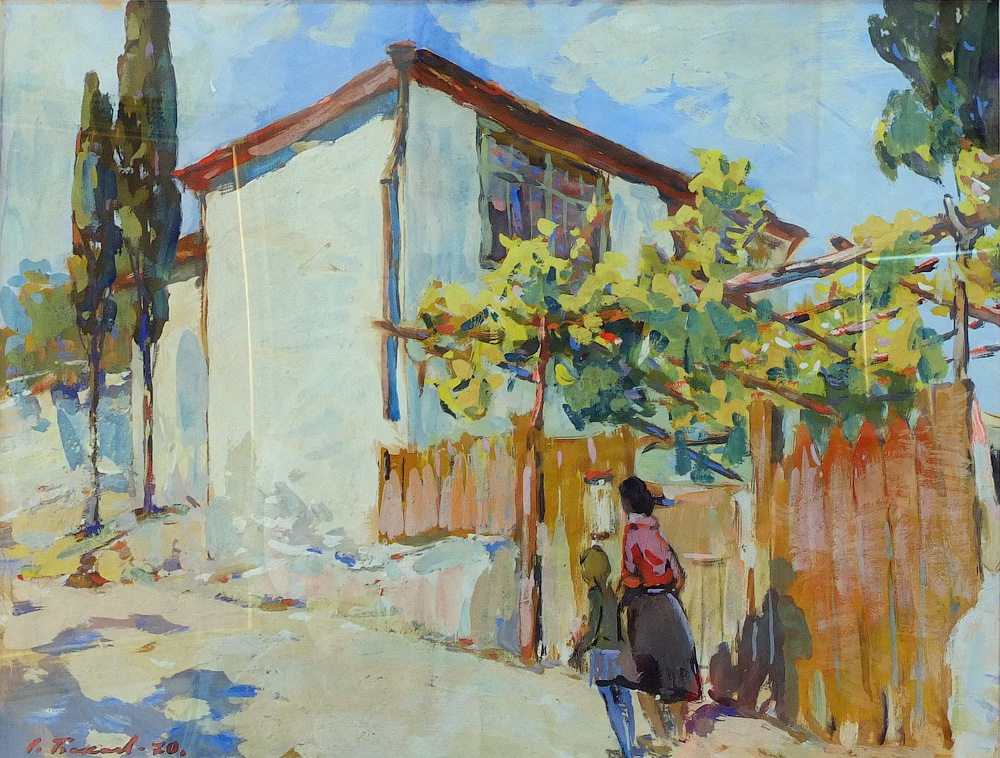 Бакаев С. И. В Крыму. 1970