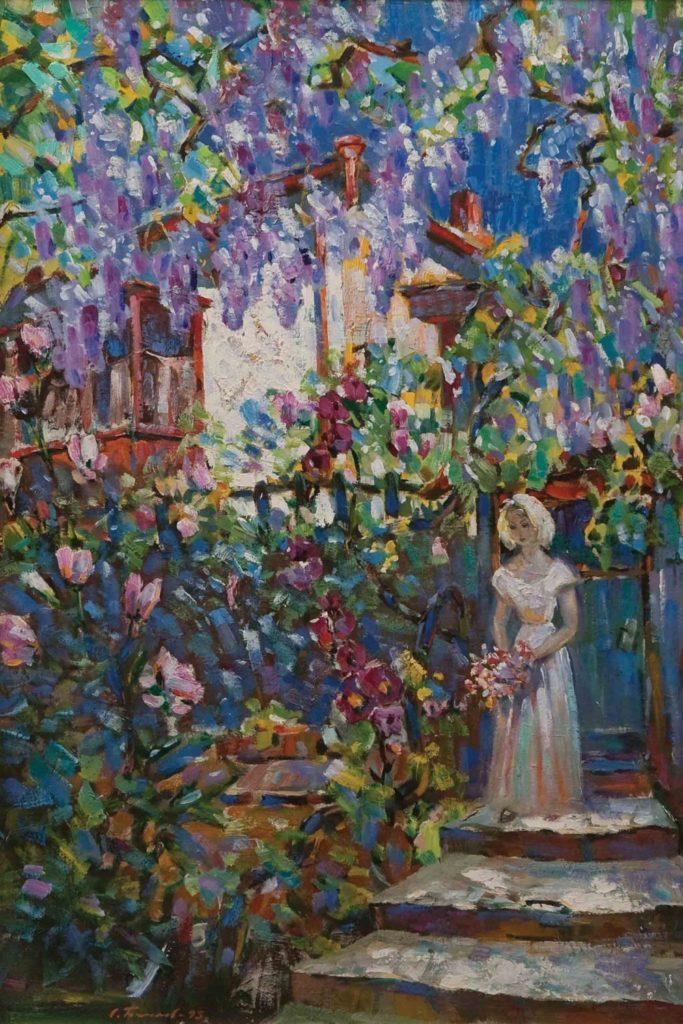 Бакаев С. И. В саду. 1995