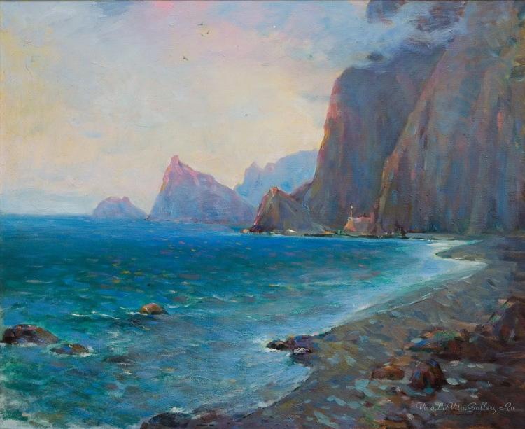 Бакаев С. И. Морской пейзаж