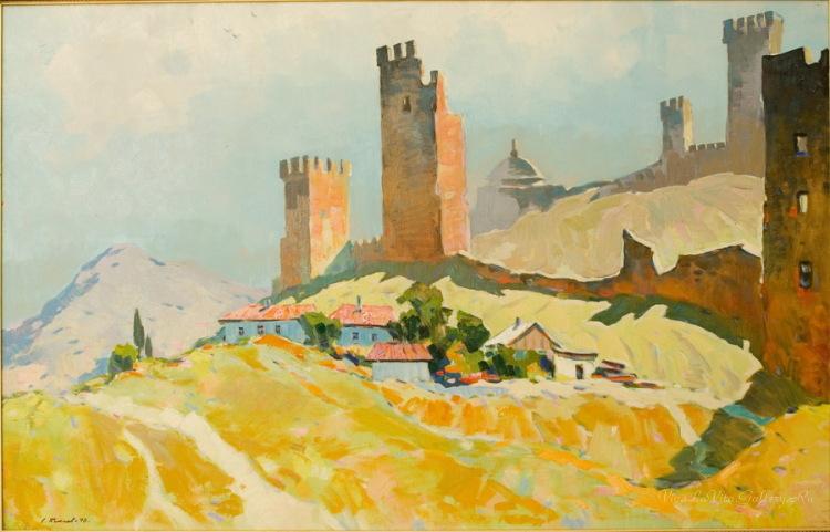 Бакаев С. И. Судак. Генэзская крепость