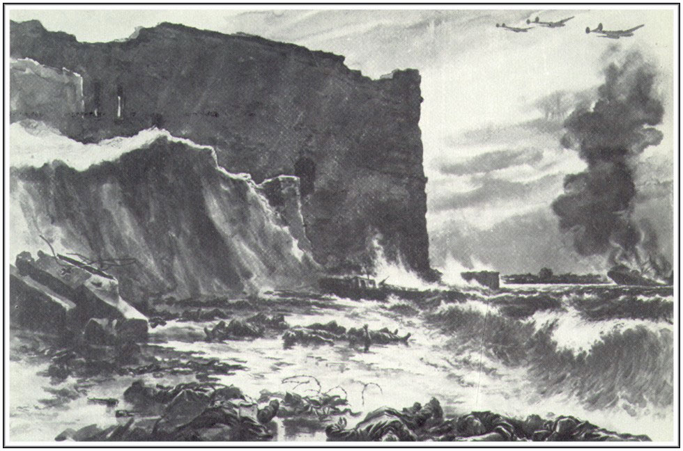 Баранов П. И. Враг сброшен в море
