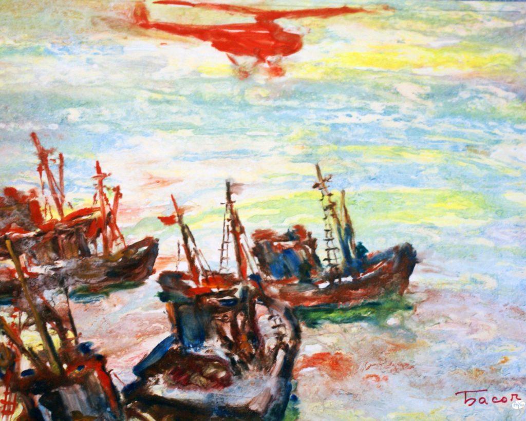 Басов Я. А. В поисках рыбы. 1979