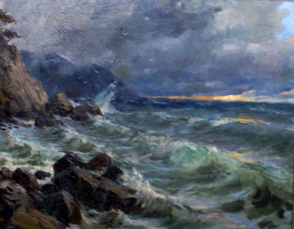 Басов Я. А. Морской пейзаж