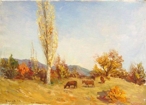 Басов Я. А. Осенний полдень
