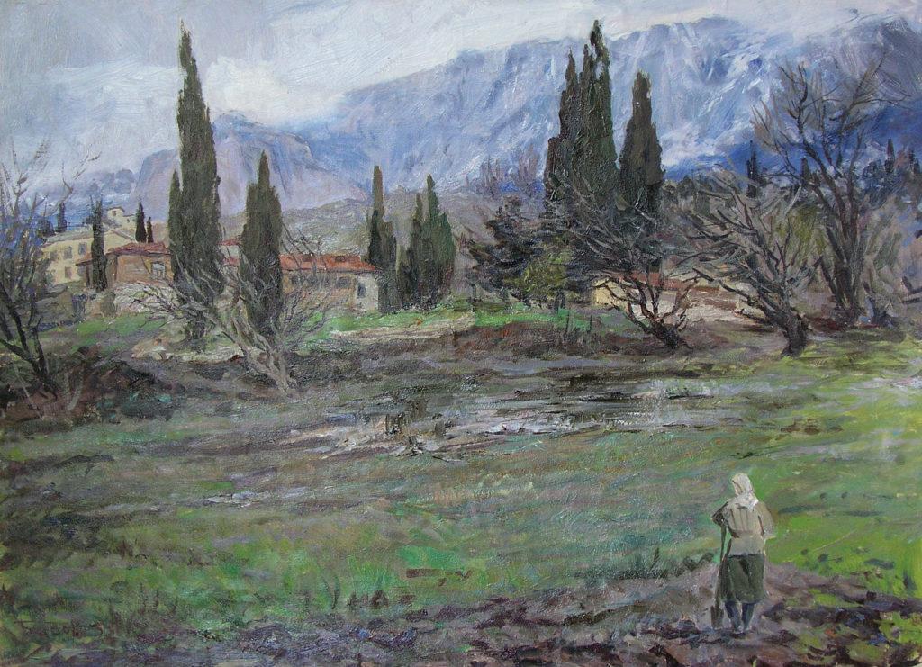 Басов Я. А. Осень в Крыму. 1955