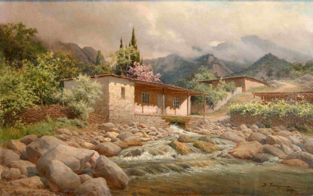 Батурин В. П. Крымский пейзаж,1937