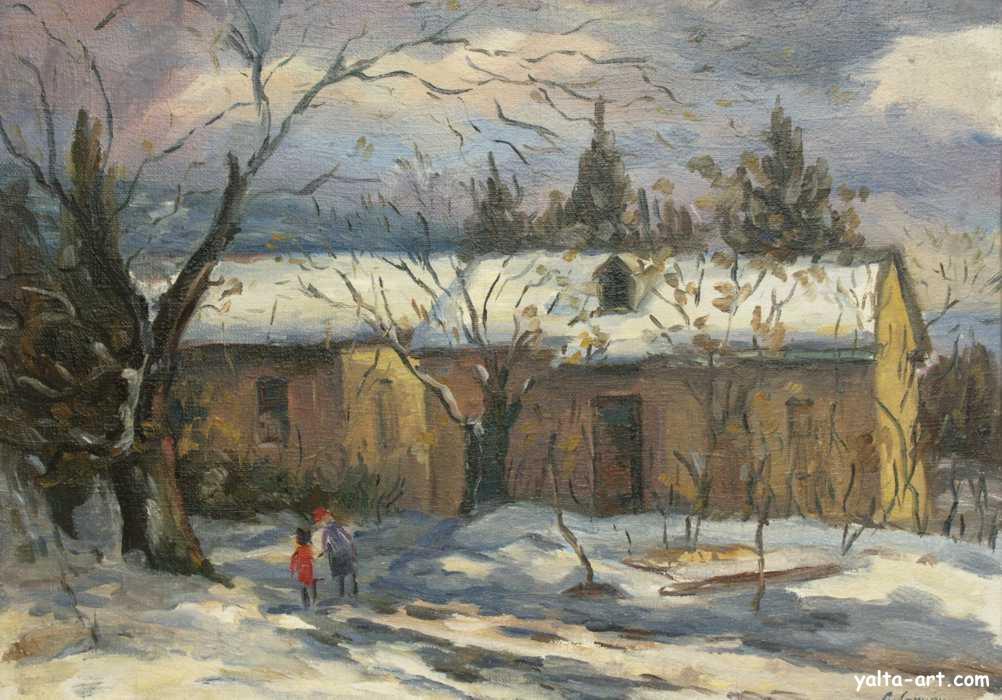 Арунян С. Зима в Алупке. 1993