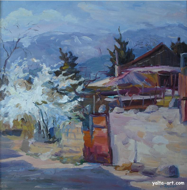 Крымский пейзаж. 2005