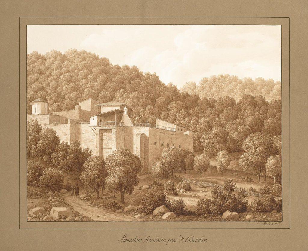 Кюгельген Армянский монастырь возле Эски-Кермена