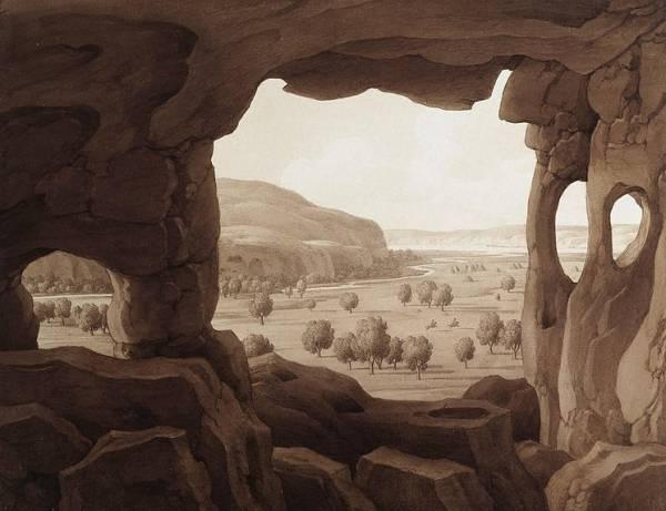 Кюгельген Вид из Инкерманской пещеры