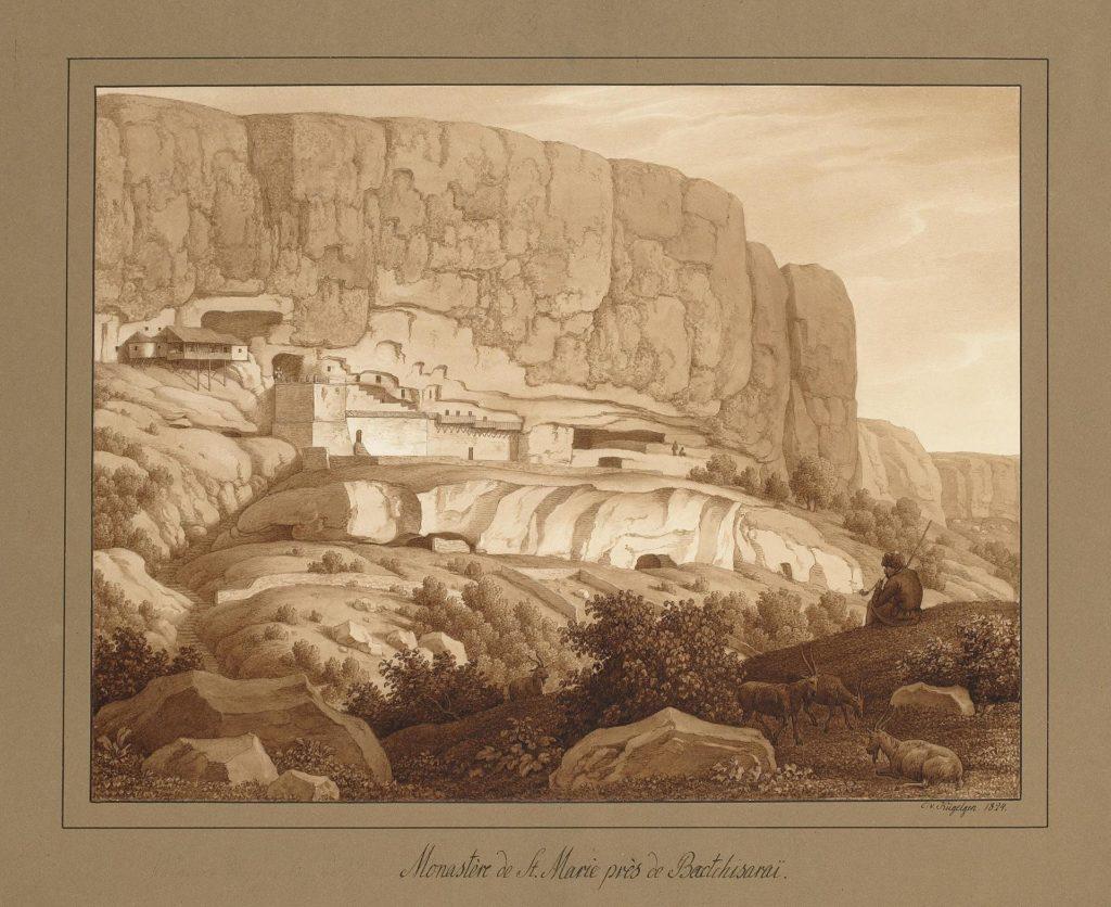 Кюгельген Монастырь св. Марии у Бахчисарая