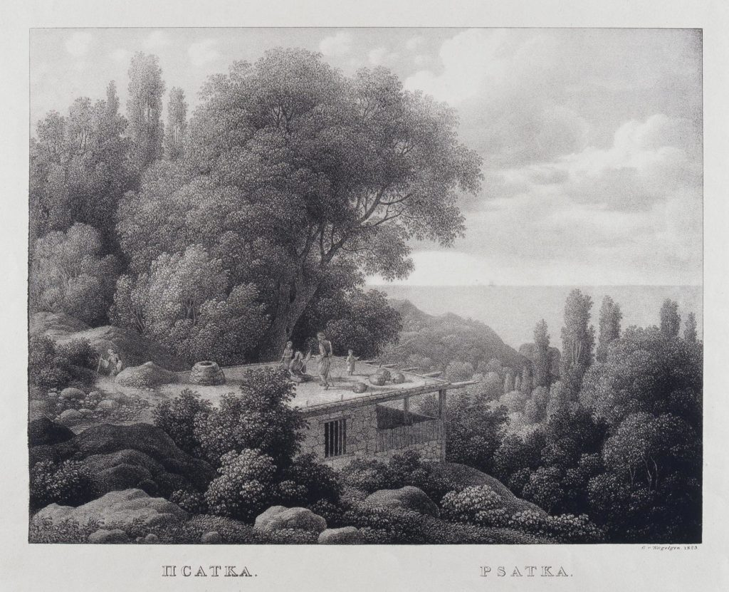 Кюгельген Псатка (Мшатка), 1924