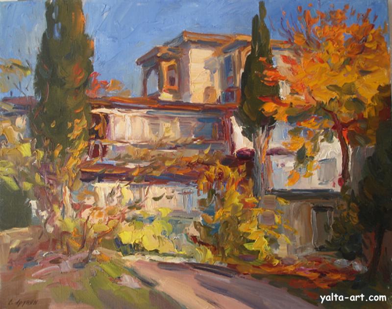 Арунян С. Осенний Гурзуф. 2006
