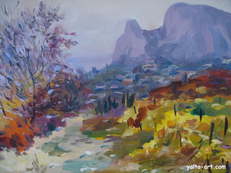 Арунян С. Осень в Симеизе. 2004