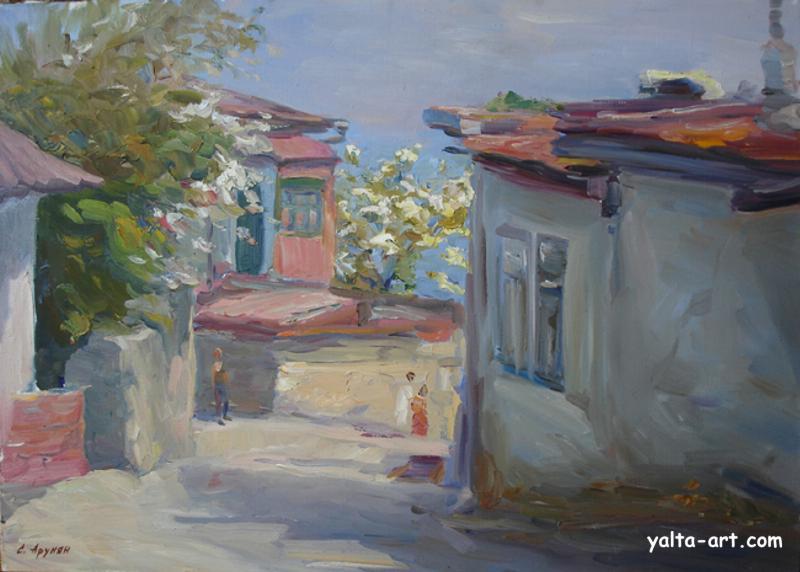 Арунян С. Улочка в Алупке. 2006