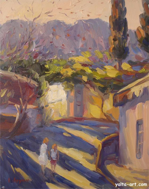 Арунян С. Улочка в Алупке. 2007