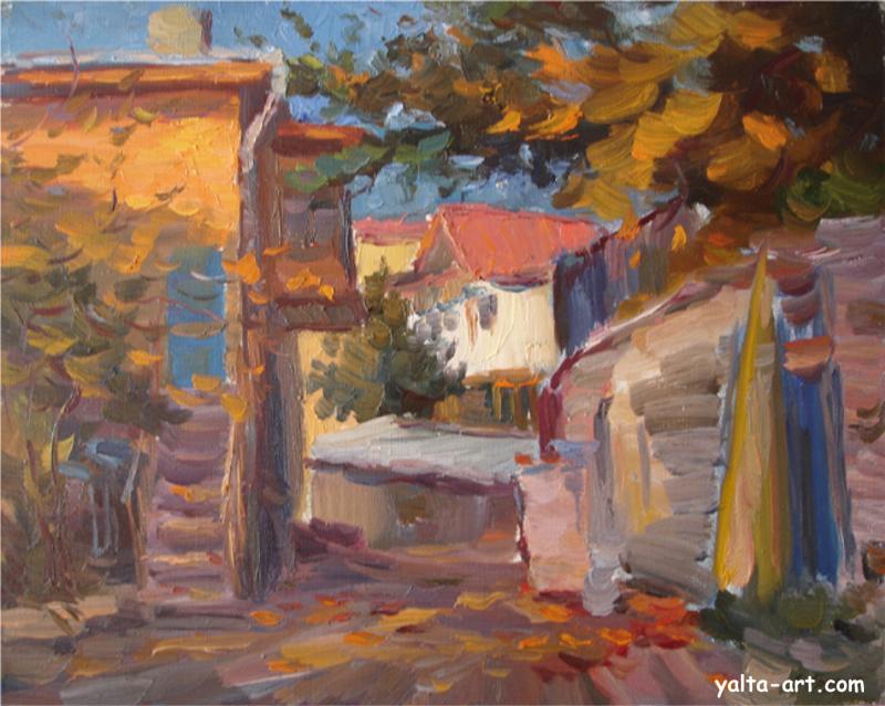 Арунян С. Улочка в Гурзуфе. 2006